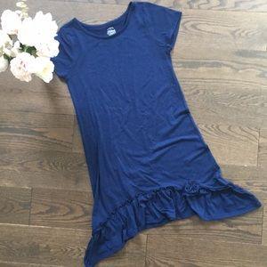 Other - Girl's Navy Blue Ruffle Dress